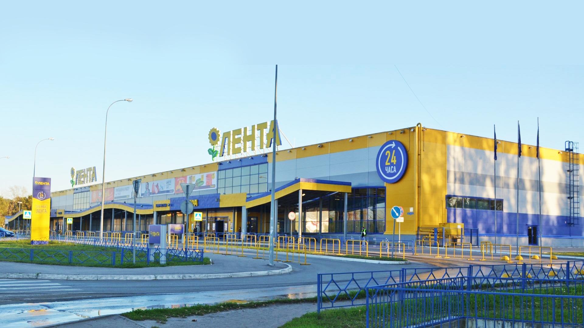 """6. Торговый комплекс """"Лента"""" на проспекте Строителей, 2б в г. Пензе. 2009 г."""